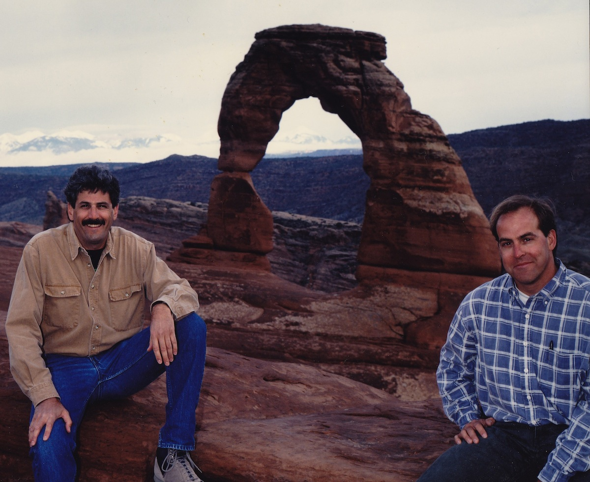 Chris_and_Lee_at_Delicate_Arch_May_1994